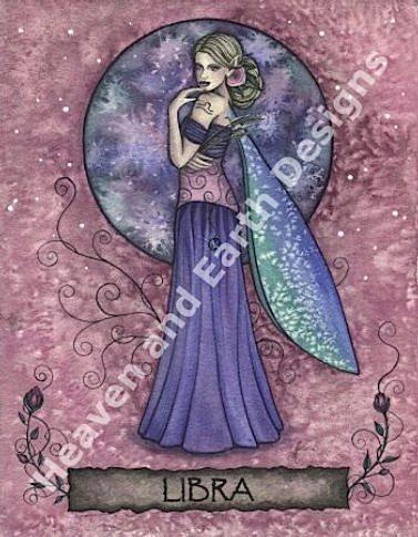 Zodiac Fairies Libra From Heaven And Earth Designs