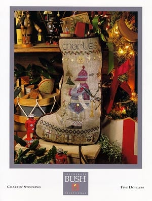 Charles stocking from shepherd 39 s bush casa cenina for Charles craft christmas stockings