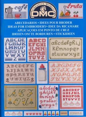 BOOK DMC EMBROIDERY