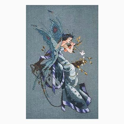 """COMPLETE XSTITCH KIT /""""A MIDSUMMER NIGHT/'S FAIRY/"""" MD30 by Mirabilia SALE"""