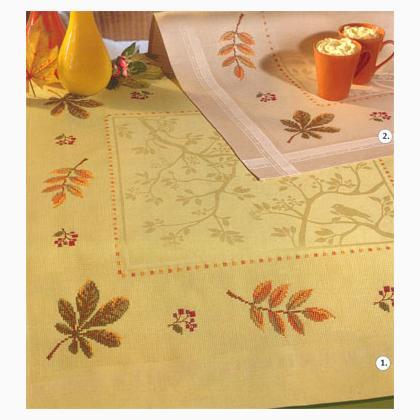 Tovaglia magia d 39 autunno salvia da rico design per for Salvia da colorare