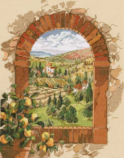 Dreaming Of Tuscany From The Janlynn Corporation Other
