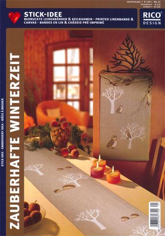 Rico design ricami invernali 2 da rico design libri for Riviste design casa