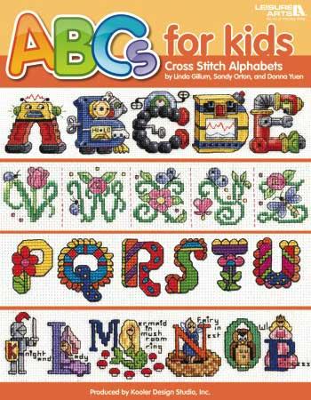 Alphabets For Baby Leisure Arts 15 Designs Linda Gillum
