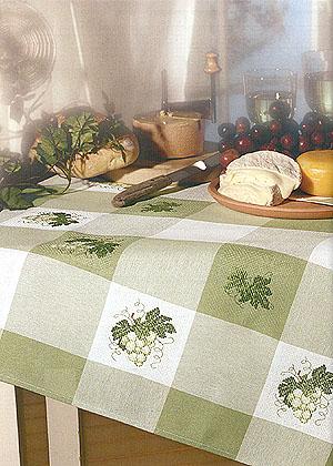 Tovaglia quadri da cucina green da rico design per la cucina ricamabili punto croce casa - Quadri da appendere in cucina ...