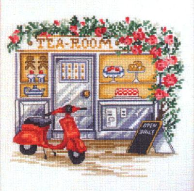 Permin Tea Room Cross Stitch