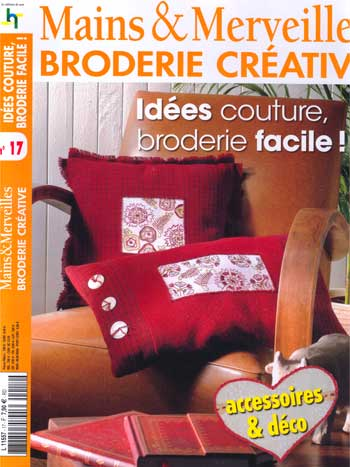 Idees couture broderie facile from les dition de saxe - Idee couture facile ...