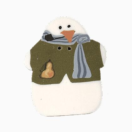 Nh1098l large piper snowman de just another button co for Self tissus nancy