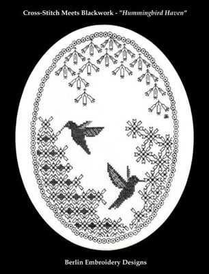Bright Hummingbirds Embroidery Designs