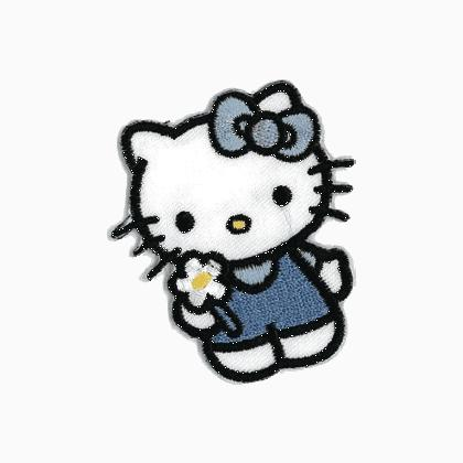 Appliqu hello kitty bleu bow from stafil necessities - Casa hello kitty ...