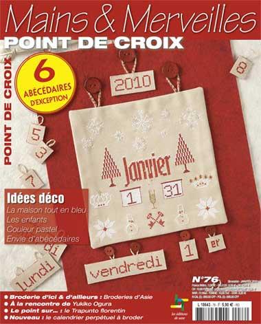 Le point de croix 76 id es d co from les dition de for Deco idees magazine