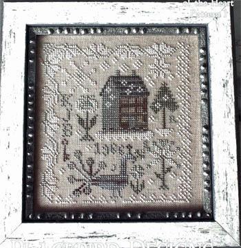 Snow garden from blackbird designs cross stitch charts for Blackbird designs english garden