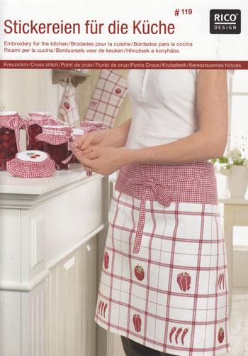 Rico design ricami per la cucina da rico design libri for Riviste per la casa