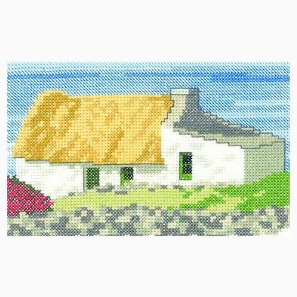 Heritage Crafts Little Darlings Safe Haven Cross Stitch Kit