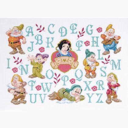 Disney Princess: Snow White and the Seven Dwarves ABC From DMC ...