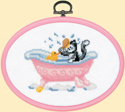 Bathroom cross stitch pattern free patterns for Bathroom cross stitch patterns free