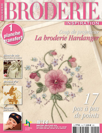 broderie inspiration n 14 from les dition de saxe books and magazines books and magazines. Black Bedroom Furniture Sets. Home Design Ideas