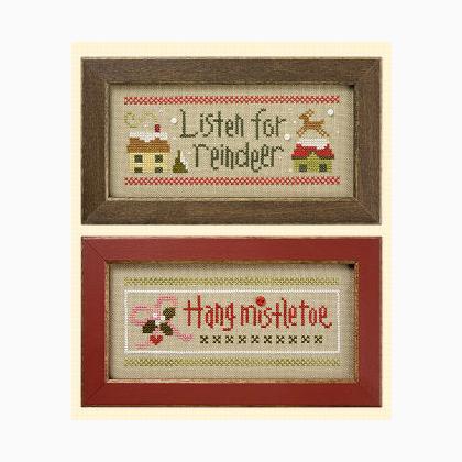 Christmas Rules Double Flip: Reindeer/Hang Mistletoe From Lizzie ...