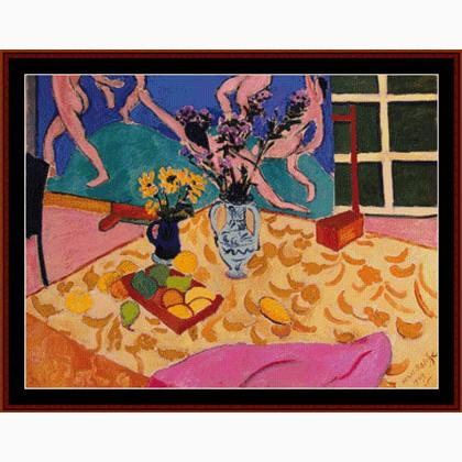 Matisse - Still Life with The Dance From Cross Stitch ...