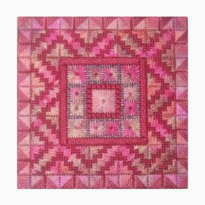 Color Delights Rose From Needle Delights Originals Cross Stitch