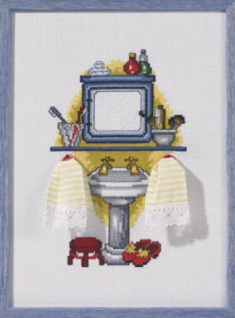 Sala da bagno wash da permin of copenhagen piccoli - Quadri in bagno ...