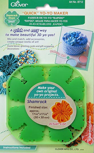 Quick yo yo maker shamrock shape small da clover cose - Shamrock foglio da colorare ...