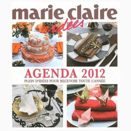 agenda marie claire id es 2012 from marie claire books and magazines books and magazines. Black Bedroom Furniture Sets. Home Design Ideas