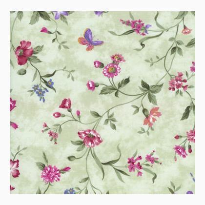 Wildflower rhapsody c7245 sage da timeless treasures for Salvia da colorare