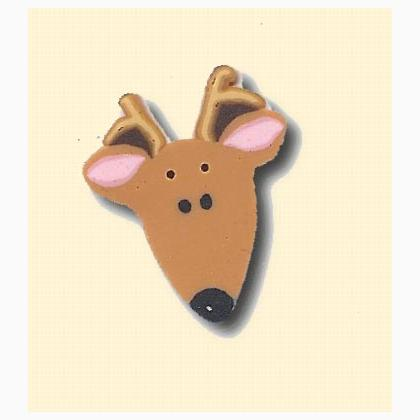 Nh1108l large reindeer de just another button co nancy for Self tissus nancy