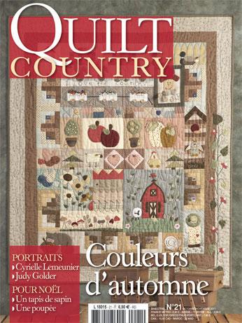 Quilt country n 21 couleurs d 39 automne from les dition de - Edition de saxe ...