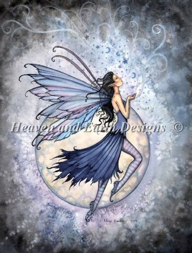 Midnight Blue From Heaven And Earth Designs Cross Stitch