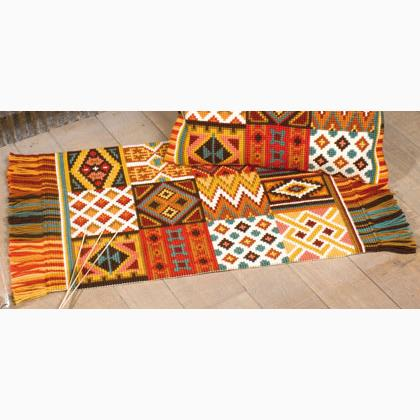 Cross Stitch Carpet Africa From Vervaco Other
