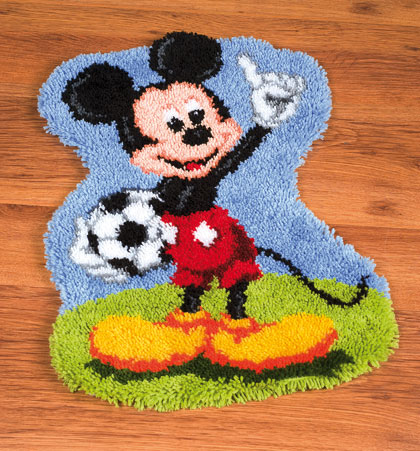 Mickey Mouse Latch Hook From Vervaco Disney By Vervaco