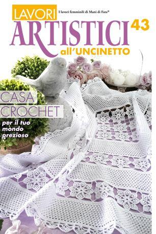 Lavori Artistici Alluncinetto 43 From Mani Di Fata Books And