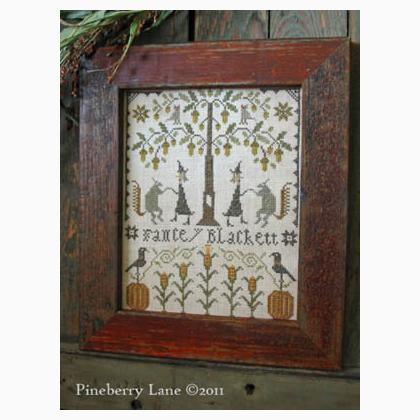 Marie Journet 1863 Sampler Pineberry Lane Cross Stitch Pattern
