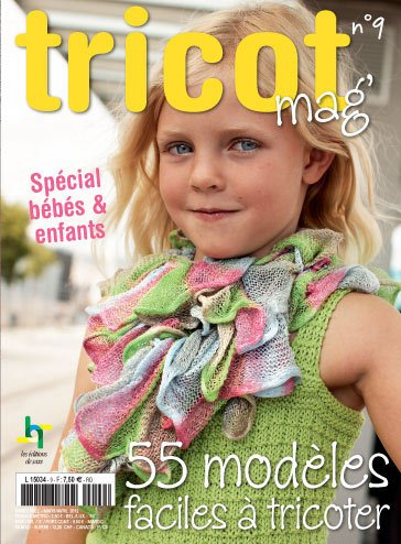 Tricot Mag N 9 55 Modeles Faciles A Tricoter From Les Edition De Saxe Books And Magazines Books And Magazines Casa Cenina