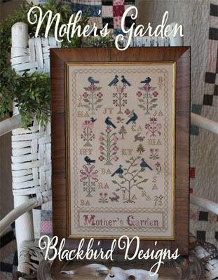 Mother s garden from blackbird designs cross stitch for Blackbird designs english garden