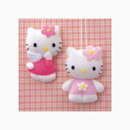 Hello kitty pastel from hamanaka sewing kits kits - Casa hello kitty ...