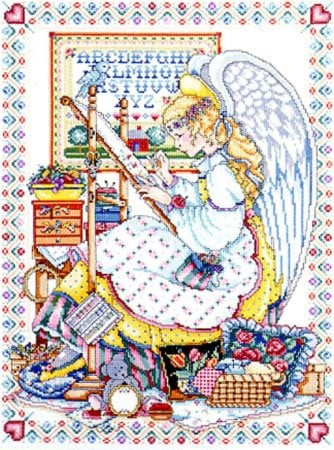 Angel Of Cross Stitch From Design Works Crafts
