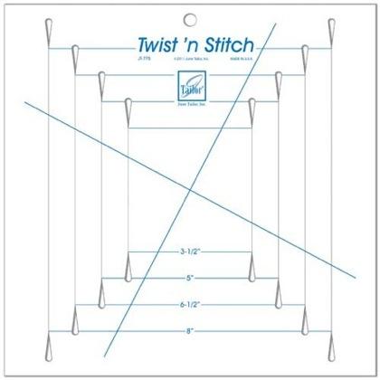 June Tailor Twist /'n Stitch Ruler