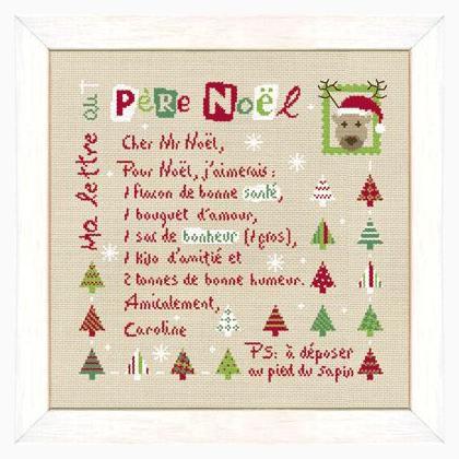 Une Lettre De Pere Noel.Ma Lettre Au Pere Au Noel