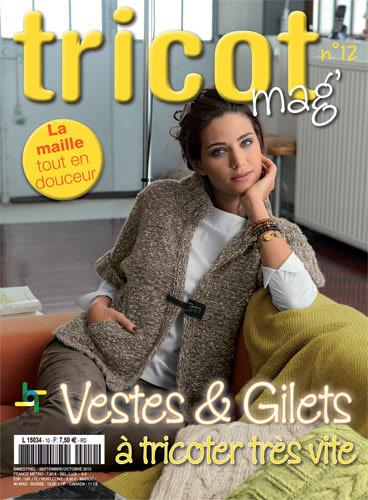 Tricot mag n 12 veste gilets tricoter tr s vite da - Edition de saxe ...