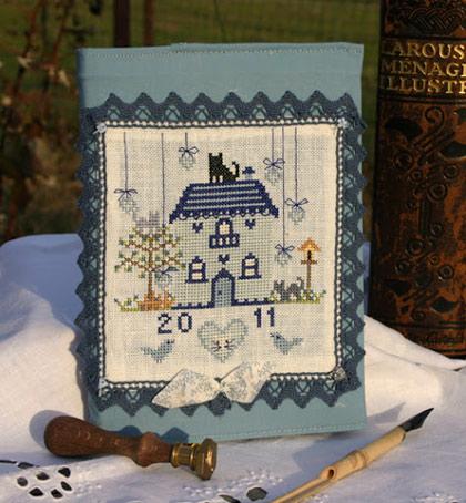 Ma maison id ale from paola gattiblu cross stitch charts cross stitch charts casa cenina - Maison ideale ...
