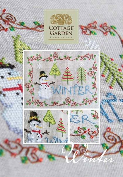 Winter De Cottage Garden Samplings Grilles Point De