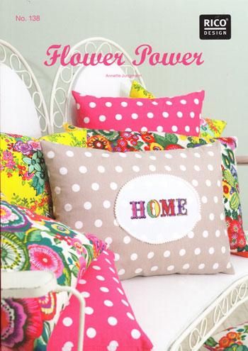 Rico design flower power da rico design libri riviste for Riviste design casa