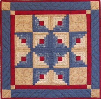 Log Cabin Star From Rachel S Of Greenfield Sewing Kits