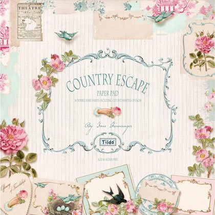 Tilda Paper Stack Country Escape From Tone Finnanger