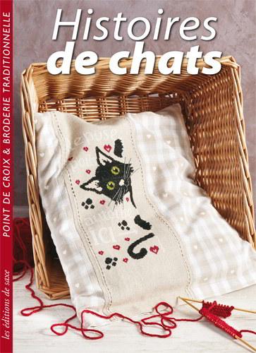 Histoires de chats point de croix broderie traditionelle de les dition de saxe livres et - Edition de saxe ...