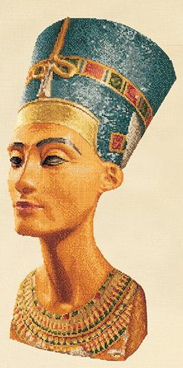 Nefertiti Small From Thea Gouverneur Culture Cross