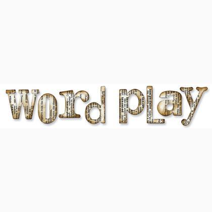Xl Alphabet Die Word Play From Ellison Sizzix